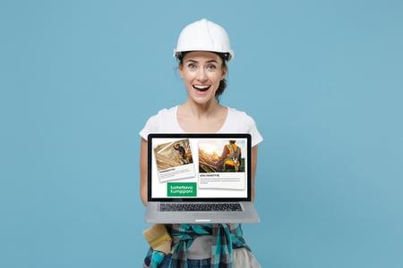 Vinkit remontti- ja rakennusfirman markkinointiin verkossa
