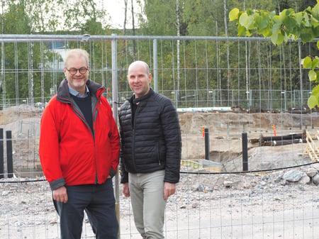 Itä-Helsingin koulutuskeskittymä tuo nostetta rakennusalalle