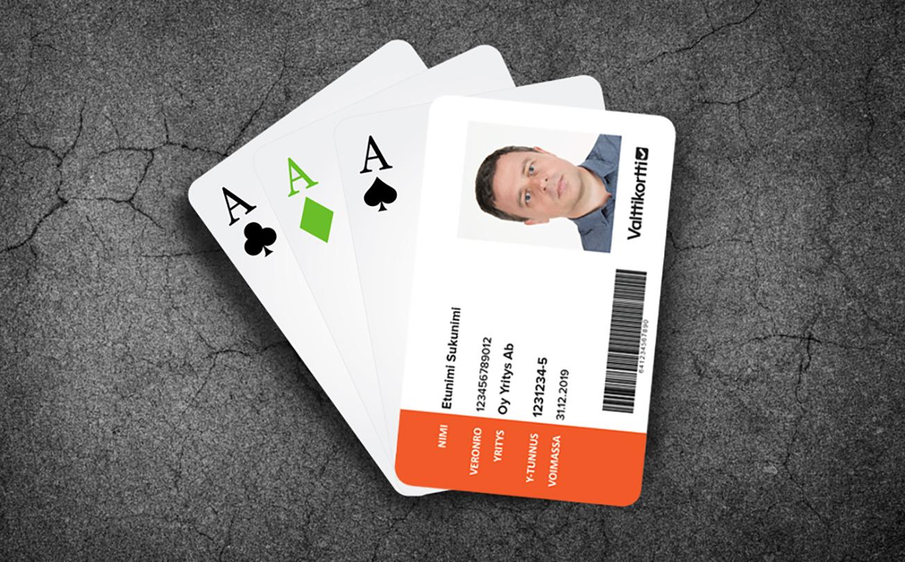 Valttikortti on henkilötunnisteiden ässä
